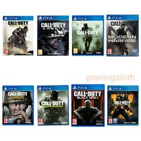Call of Duty PS4 Games VGC Choose A Game or Bundle Up **FREE UK 1st Class POST**
