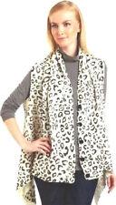 NWT VERTIGO PARIS Cheetah-Printed Sweater Vest (Size S/M) White  $170