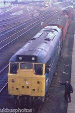 BRITISH RAIL 31220 Breakdown train Doncaster Rail Photo