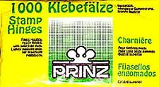 Prinz Stamp Prefolded HINGES Pack of 1000