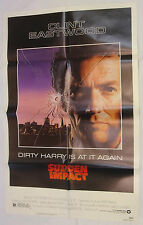 Clint Eastwood SUDDEN IMPACT Original 1983 Movie Poster 27x41 Dirty Harry