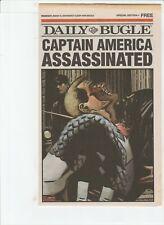 CIVIL WAR FALLEN SON DAILY BUGLE SPECIAL # 1 !! DEATH OF CAPTAIN AMERICA !! 2007