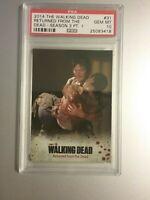 SALE PSA 10 Walking Dead Season 3 Pt 1 Card #31 1 of 2 Graded 10, DARYL/CAROL