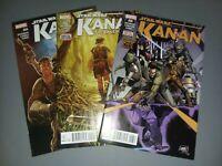 Star Wars Kanan The Last Padawan #4,5,6 First Full Sabine Wren Ezra Bridger