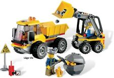 Lego 4201 City Loader and Dump Truck Chantier Camion complet Notice CN153