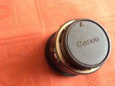Canon Cámara Lente FD 50MM 1:18 con Filtro Skylight Canon 52MM