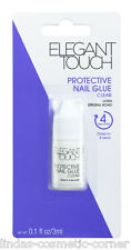 Elegant Touch Protective Nail Glue 3ml for False Nails