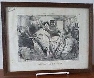 Gravure litho N°5 Ch. Vernier,Destouches 28 rue Paradis Paris,  Maison Martinet