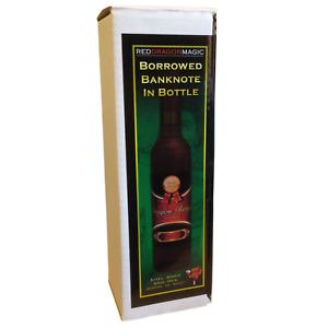 Borrowed Banknote in Sealed Bottle! - Superb Magic Trick