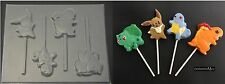 POKEMON GO Squirtle Eevee Bulbasaur Charmander Chocolate Candy Lollipop Mold