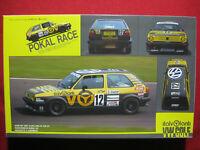 1988 VW Golf Pokal Race Italvolanti 1/24 Fujimi Vintage Model Kit Volkswagen