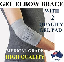 GEL TENNIS GOLF BRACE ELBOW PAIN SUPPORT GUARD SPORTS GYM RSI ARTHRITIS RELIEF