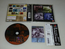 JAPAN IMPORT VIDEO GAME SONY PLAYSTATION PS1 GUNDAM THE BATTLE MASTER W CARD PSX