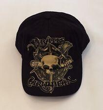 Bnwt Disney Parks Pirates of the Caribbean Adult Baseball Hat Cap Black