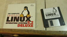"The Complete Redhat Linux 5.2 Operating System Deluxe - CD & 3.5"" Hard Disk New"