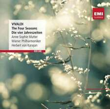 Anne-sophie Mutter/wiener Phil - Vivaldi: The Four Seasons - Di NEW CD
