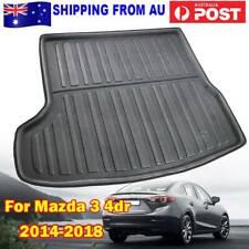 Tailor Made Cargo Trunk Mat Boot Liner For Mazda 3 M3 Sedan BM BN 2014-2018