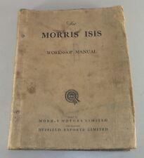 Manual de Taller Morris Isis Stand 04/1957