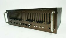 Vintage Adc Sound Shaper Two Ss 2 Ic Stereo Frequency Equalizer