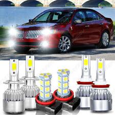 Para For Lincoln MKZ 2007-2012 6X 6000K LED faro alto y bajo haz +luz antiniebla