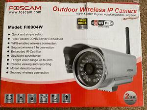 foscam wireless ip camera X 3