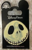 Disney's Nightmare Before Christmas Jack Skellington and Sally Glow in Dark Pin