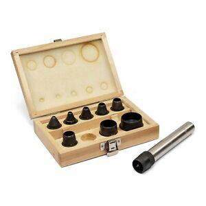 Locheisen Set 10tlg. Stanzeisen-Satz 5-32 mm Stanz-Loch-Werkzeug