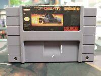 Top Gear Super Nintendo SNES Authentic Cart Only -- S2G --