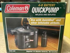 Coleman Quickpump Quickbed & Other Inflatable Airbeds 5999-325 BRAND NEW in box