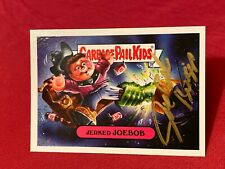 Joe Bob Briggs Garbage Pail Kids Autograph Card Jerked Joe Bob 2019 Topps