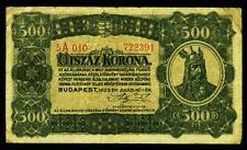 UNGARN. HUNGARY. 500 Korona 1923. P. 74b.