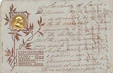 C2230) COMO ESPOSIZIONE 1899 ELETRICITA' E INDUSTRIA SERICA, ALESSANDRO VOLTA.