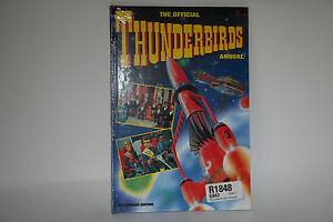 Thunderbirds, The official Italian annual from 1993 Still Sealed