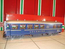 LGB 30521 BLUE RHB GOURMINO DINING PASSENGER CAR #3811 BRAND NEW IN ORIGINAL BOX