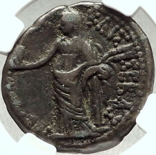 CLAUDIUS & MESSALINA Alexandria Egypt Tetradrachm Ancient Roman Coin NGC i68412