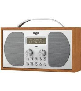 Bush Wooden DAB & FM Radio With Bluetooth