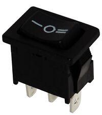 Interruptor conmutador de botón SP3T ON-OFF-ON 10A/250V 16A/12V, 3 posiciones