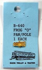 5- O Rivers trolley brass overhead wire frog