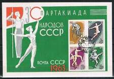 CCCP / USSR gestempeld 1963 Blok 32 - Spartakiade
