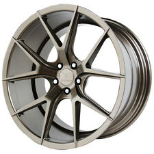 Staggered Verde Axis Front:20X9,Rear:20X10.5 5x120 +35mm Bronze Wheels Rims