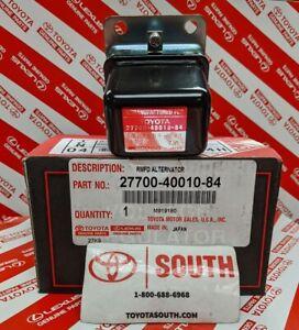 OEM Toyota Voltage IC Regulator 1969-80 Land Cruiser FJ40 FJ55 27700-40010-84