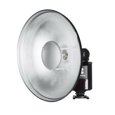 Life of photo móviles Beauty-Dish 16tlg plegable plata Ø 60 cm para Elinchrom