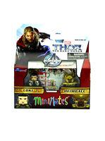 Marvel Minimates Loki & Heimdall Series 53 Thor The Dark World Movie Figures New