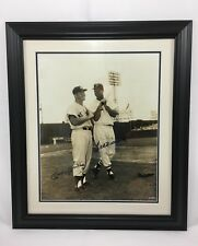 Mickey Mantle Ted Williams Signed 16x20 Photo UDA Upper Deck Holo Framed