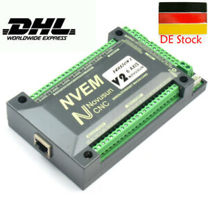 NVEM CNC Controller 6 Axis Ethernet Interface Motion Control Board Für MACH3 RBS
