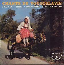 """KRISTEFF ET DIMITRI - Chants de Yougoslavie (VINYL EP 7"""" FRANCE)"""