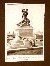 Roma nei primi anni del 1900 Monumento ai Fratelli Cairoli di Ettore Rosa