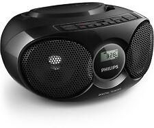 Philips Radioempfänger mit CD AZ 318 B schwarz