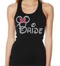 HENS NIGHT BRIDAL SHOWER IRON ON TRANSFER GLITTER  - BRIDE