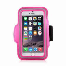 Fits iPhone 5 5S 5C Armband Neoprene Sports Gym Running Arm Band Case - Pink